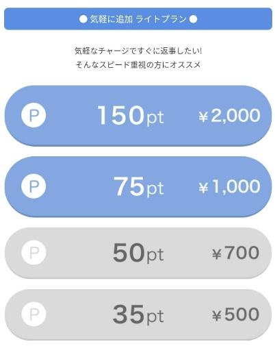 PCMAXのアプリのライトプランの課金